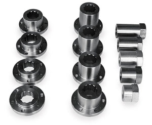 Belt Drives Ltd IN-STD Pulley And Inserts For 3in. Electric Start - Standard Insert and Nut