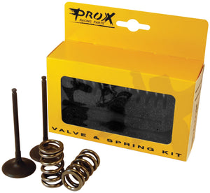Pro-X 28.SES2440-1 Steel Exhaust Valve and Spring Kit