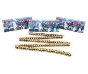 D.I.D 520ZVMXG25F 520 ZVMX Super Street X-Ring Chain - 25ft. - Gold