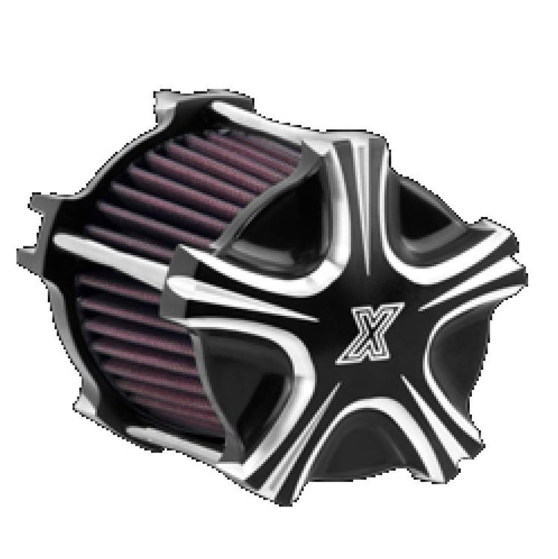 Xtreme Machine 0206-2092-BM Air Intake - Black Cut