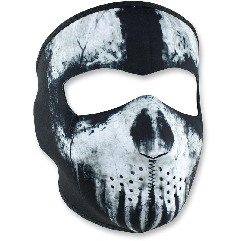 Zan Headgear Full Face Mask Skull Ghost Black
