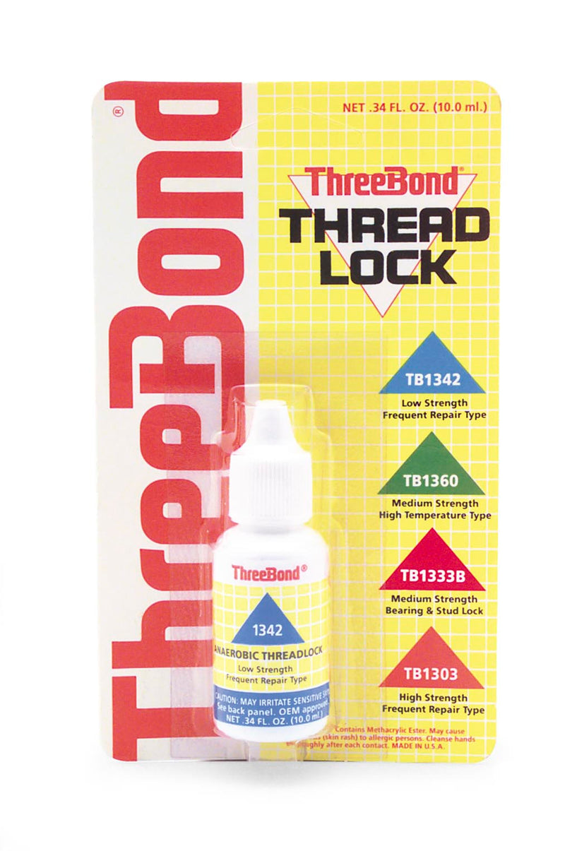 Three Bond 1342A50C Low Strength Frequent Repair Thread Lock - 50 ml