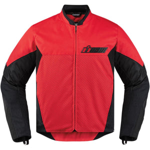 Icon Konflict Jacket Red