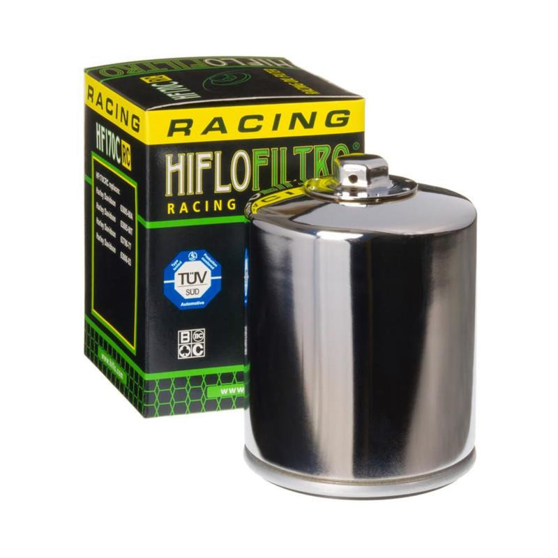 HiFlo HF170CRC RC High Performance Oil Filter - Chrome