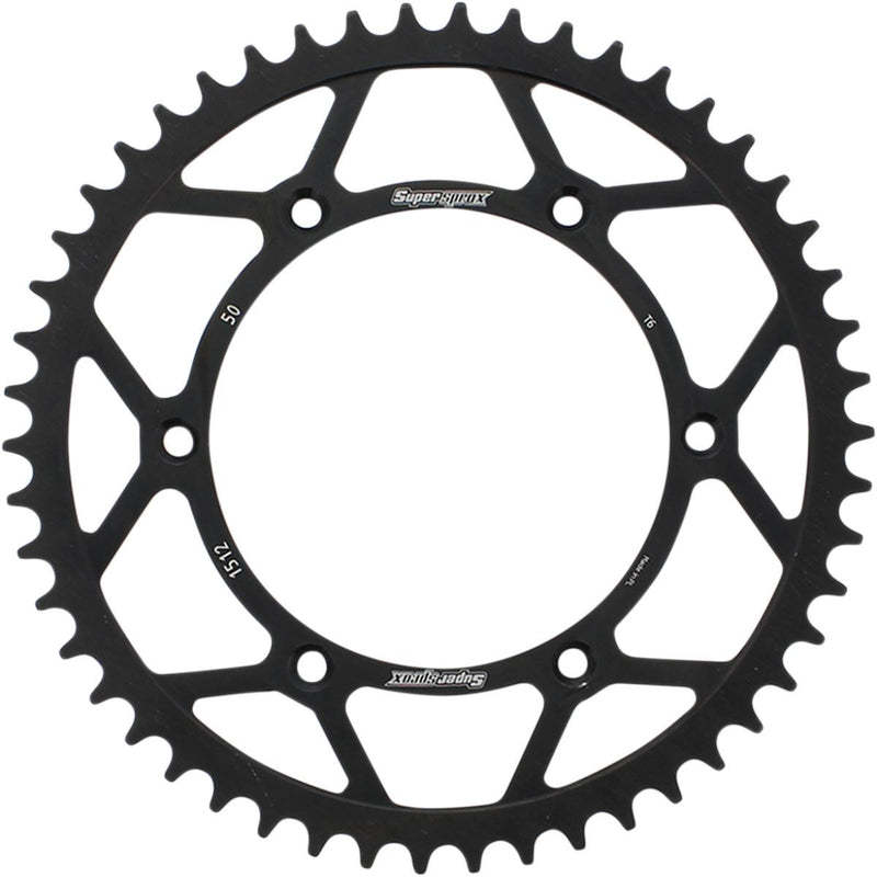 Supersprox RFE-857-38-BLK Steel Rear Sprocket - 38T