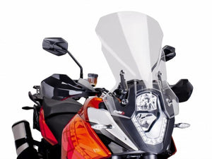 PUIG Touring Windscreen - Clear Clear