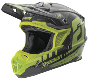 Answer AR-1 Youth Helmet Acid/Gray Gray