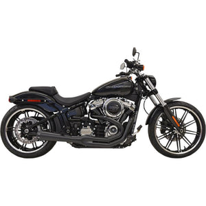 Bassani Manufacturing 1S62RB Road Rage III Exhaust System - Black with Full Black Heat Shields