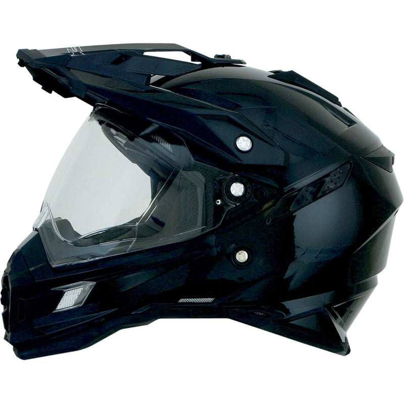 AFX FX-41DS Solid Helmet Black