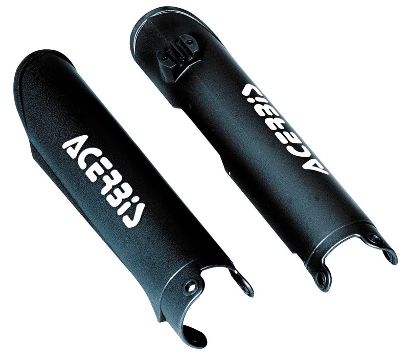 Acerbis 2141760001 Lower Fork Covers - Black