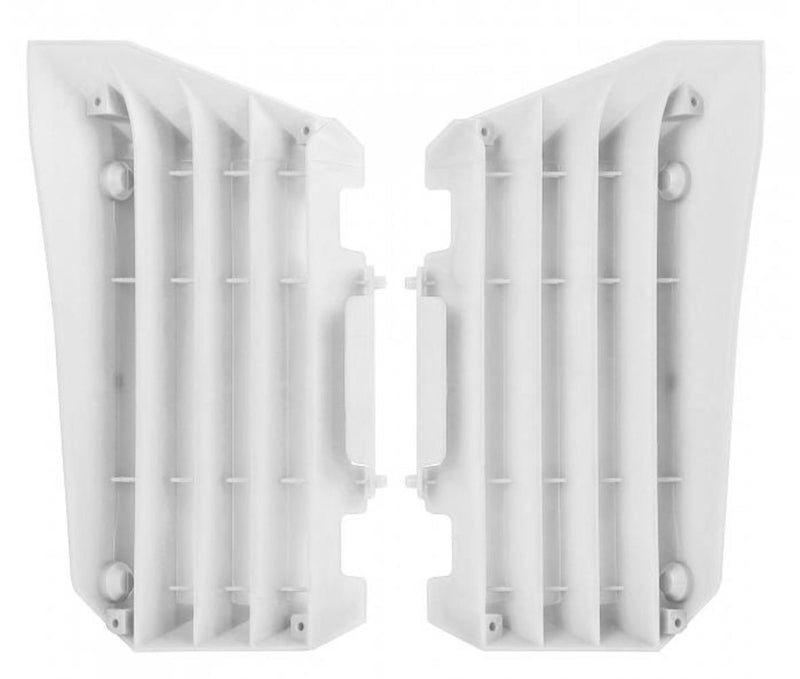 Polisport 8455800003 Radiator Louvers - White