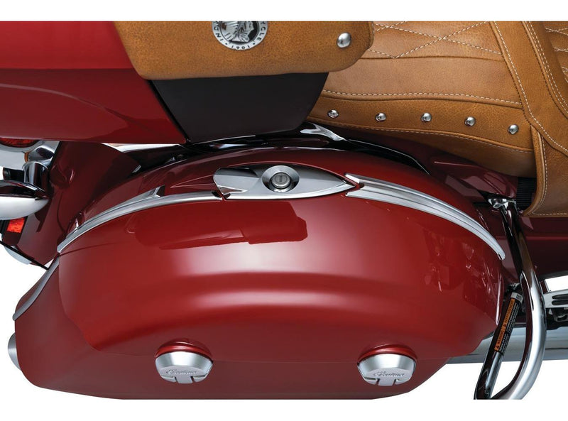 Kuryakyn 5670 Saddlebag Top Trim