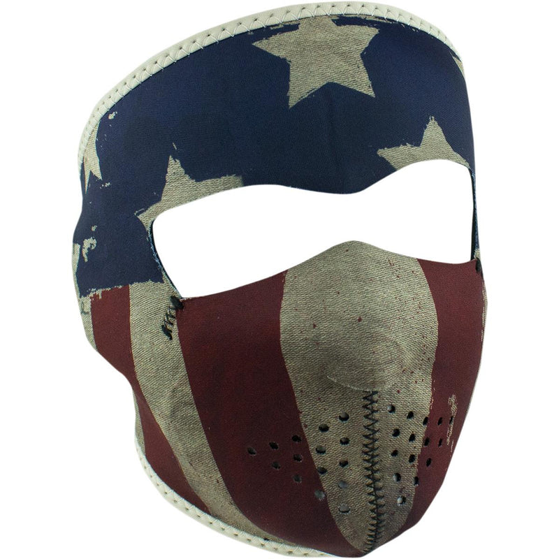 Zan Headgear Full Face Mask Patriot White