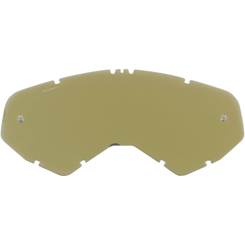 Moose Racing 2602-0770 XCR Goggle Lens - Gold