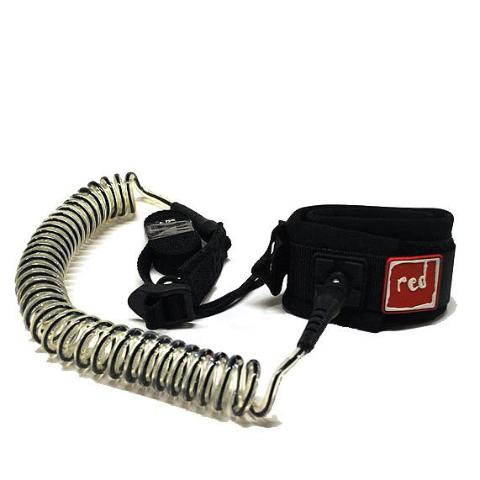 RED PADDLE SUP COIL LEASH