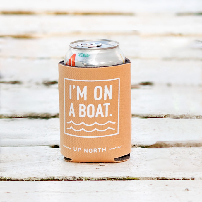 Koozie Single- Orange