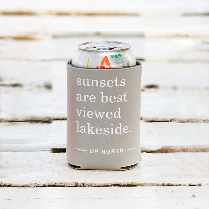 Koozie Single- Grey