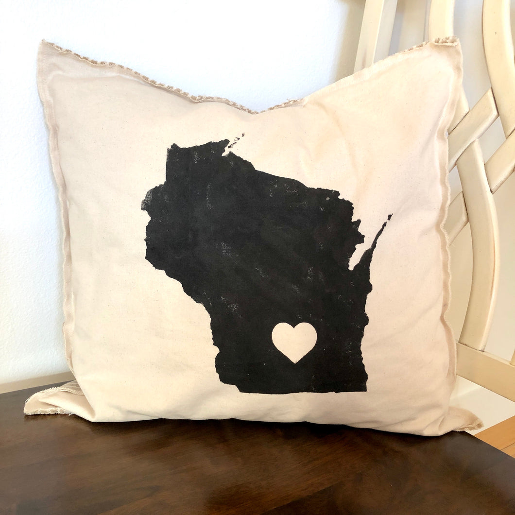 Wisconsin Pillow.