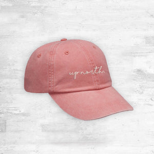 Up North Hat. Coral.