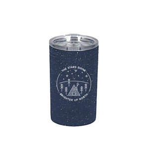 Stars Shine Brighter Tumbler. Navy.