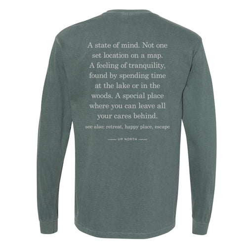 Up North Definition Long Sleeve. Olive.
