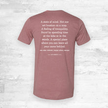 Up North Definition Tee- Mauve.