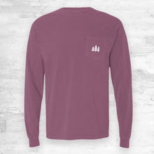 Wisconsin Favorites Long Sleeve. Berry.