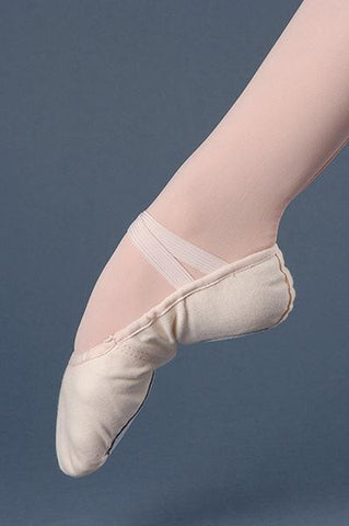 SSC 705 Split Sole Canvas Ballet - Medium Width