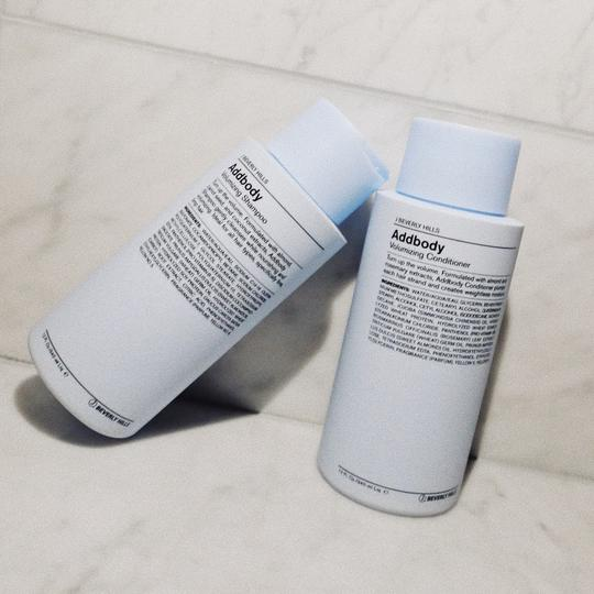 Shop J Beverly Hills Addbody Shampoo Canada. Turn up the volume. Formulated with almond, carrot seed, and coconut extracts, Addbody Shampoo gently cleanses while nourishing and volumizing. Ideal for all hair types, specifically fine, limp hair.