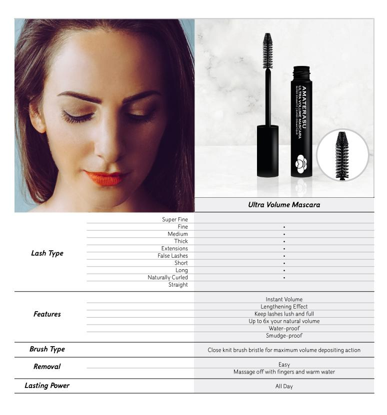 SHOP AMATERASU ULTRA VOLUME MASCARA | CRUELTY FREE VEGAN BEAUTY | CANADA | NEXT LEVEL BEAUTY SUPPLY