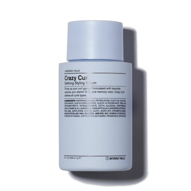 Shop J Beverly Hills Crazy Curl to plump or smooth your curl game, or soften the wave with this highly sought after product. Formulated with lavender extracts, pro vitamin B-5, and memory resin, Crazy Curl defines all curl types.
