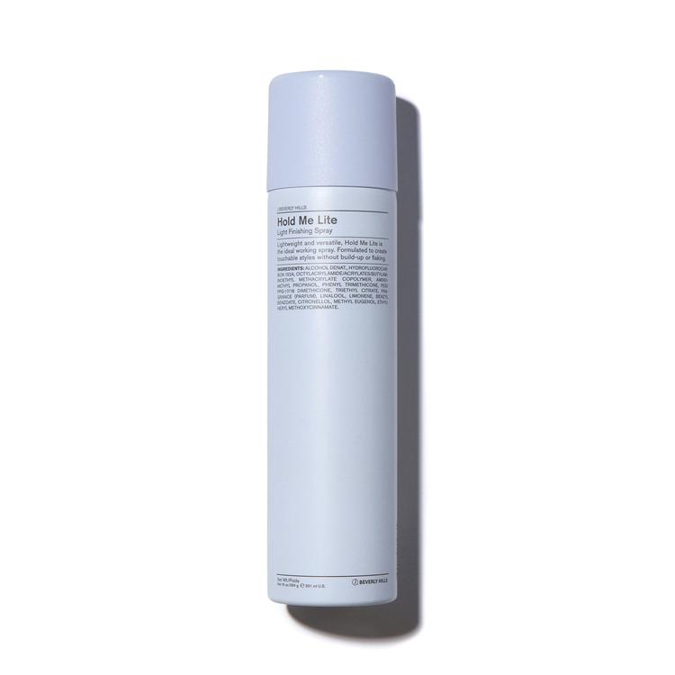 Shop J Beverly Hills Hold Me Light Hairspray in Canada. Lightweight and versatile, Hold Me Lite is the ideal working hairspray. Formulated to create touchable styles without build-up or flaking and is perfect for longer or shorty hairstyles.