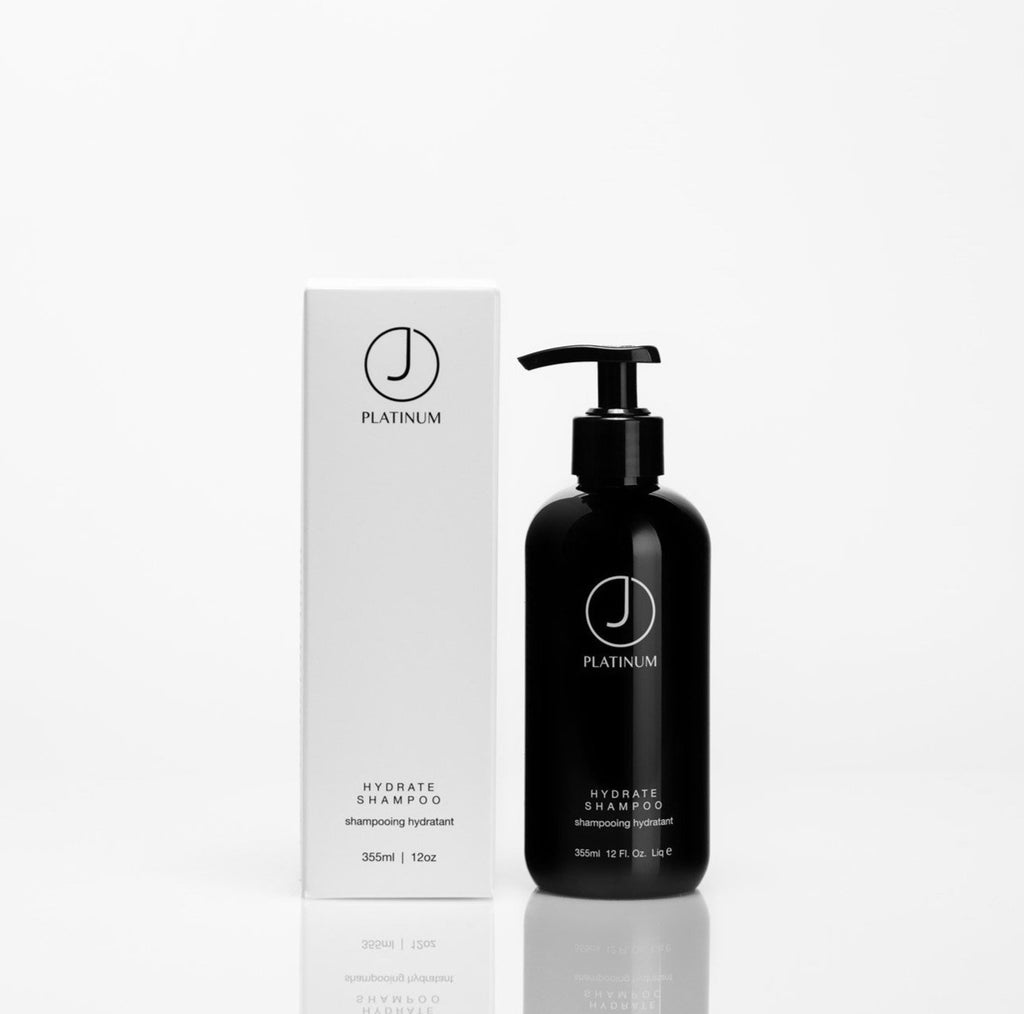 Shop J Beverly Hills Platinum Hydrate Shampoo Canada is formulated to infuse the hair with moisturizing agents that achieve smooth and healthy results. Its formula thoroughly cleanses while repairing split ends, restoring manageability, and adding shine. Suitable for both natural and colour treated hair. Sulfate and paraben-free.