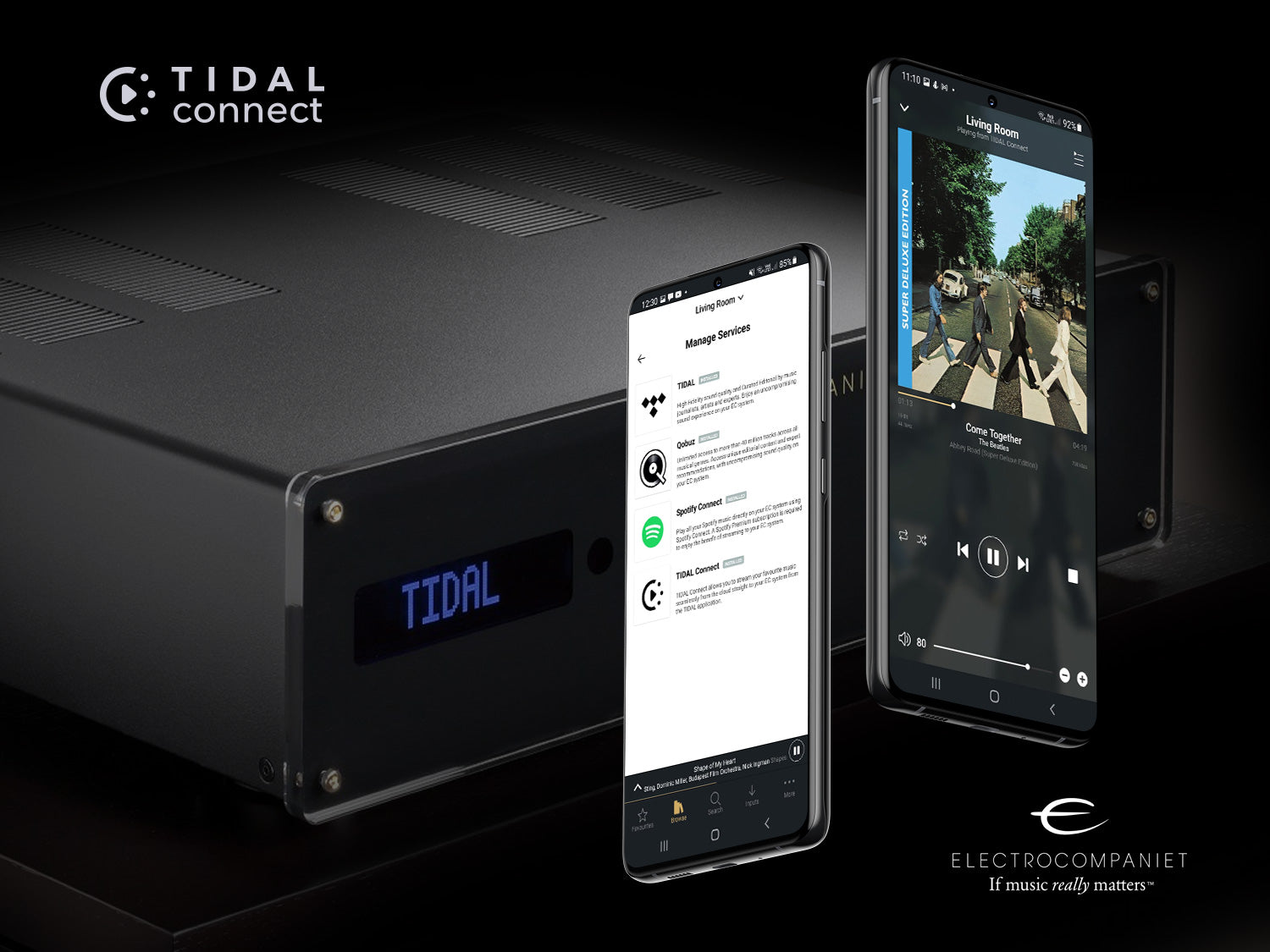 Electrocompaniet is now Tidal Connect