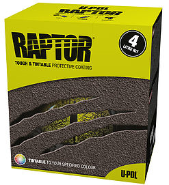 4 Litre RAPTOR Kit Tintable