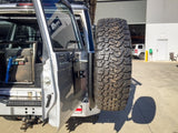 76 Series Toyota Land Cruiser Rear bar and tyre carrier