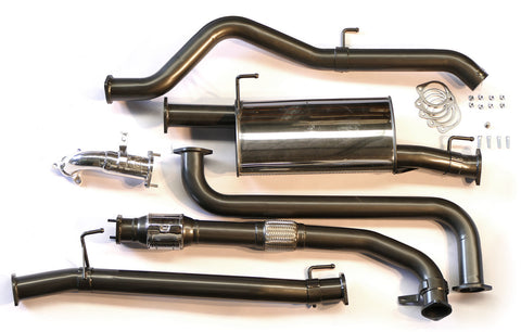 Legendex Exhaust - 2.5L TD D40 Spanish (turbo back)