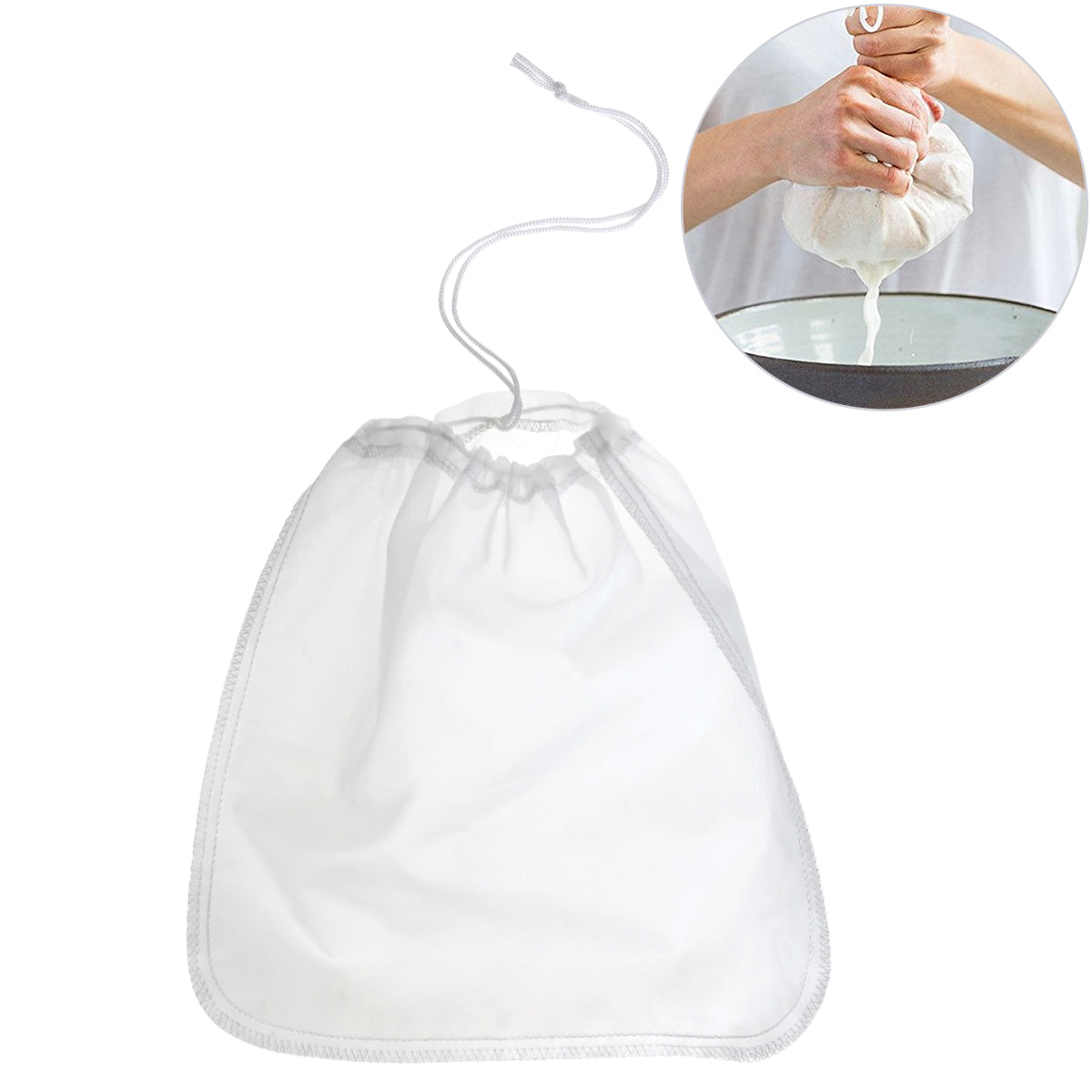 The Perfect Nut Milk Bag (Reusable)