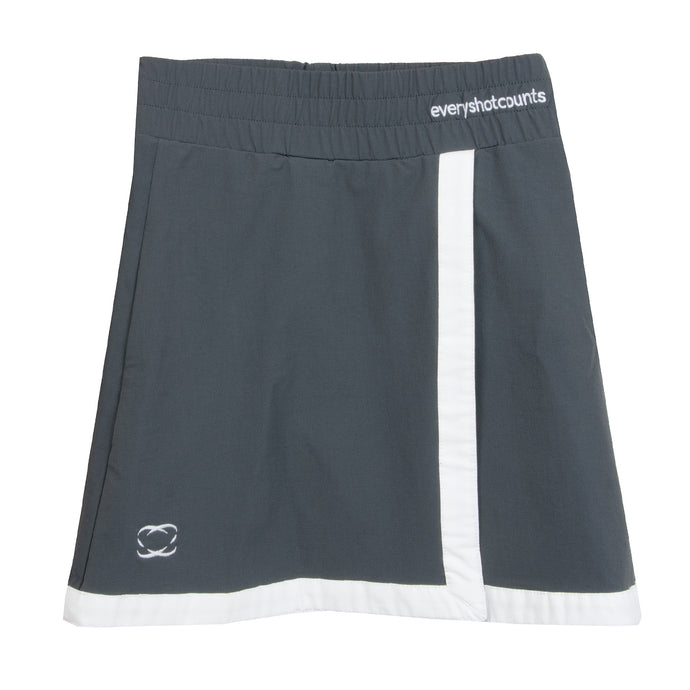 Dark Grey Girls Golf Skort 'Killeen' - everyshotcounts