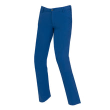 Junior Golf Trousers, blue, The Valderrama boys and girls - everyshotcounts