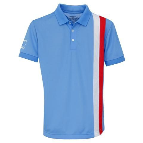 Gianni Striped Polo Shirt Blue - everyshotcounts
