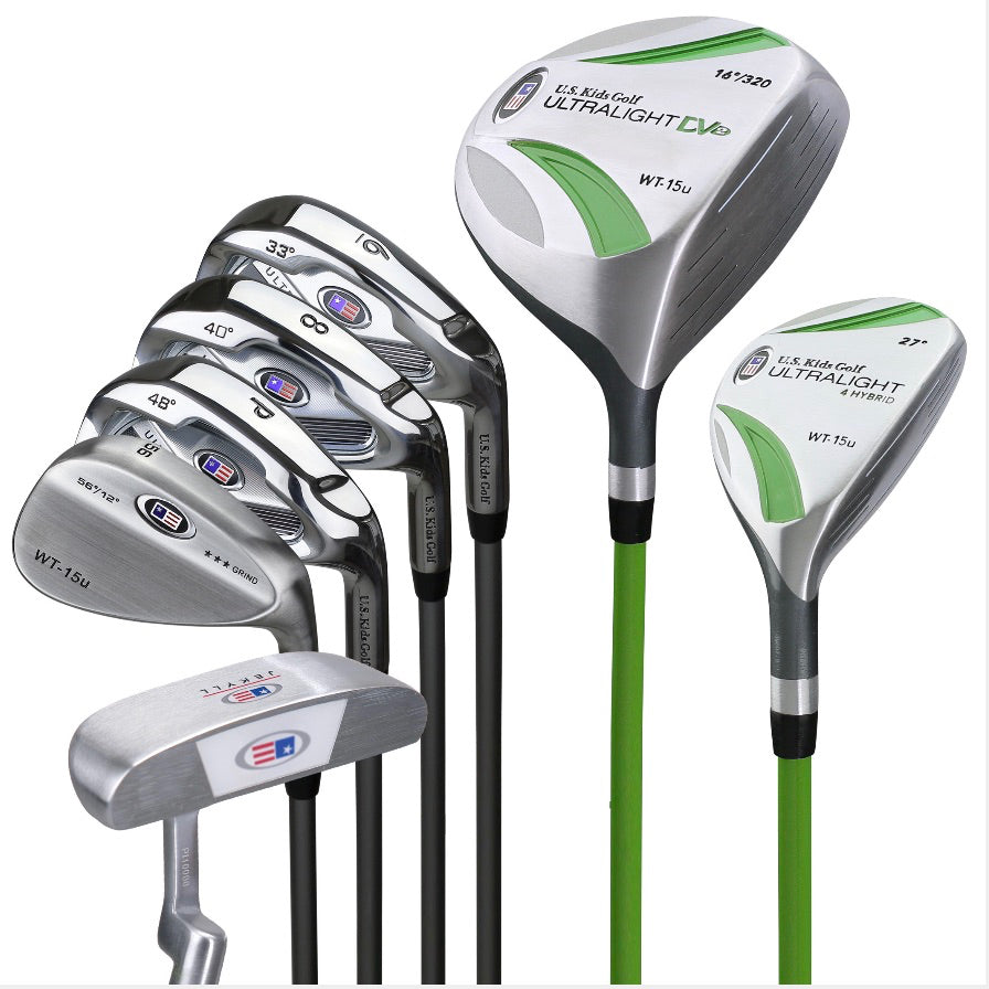 UL 51 5 Club Carry Bag Set Dr, Hy, 7i, PW, Putter, Stand Bag - everyshotcounts