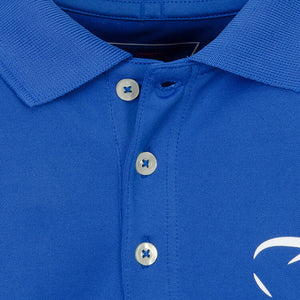 Blue Boys' Golf Polo Shirt 'St. Andrews' - everyshotcounts