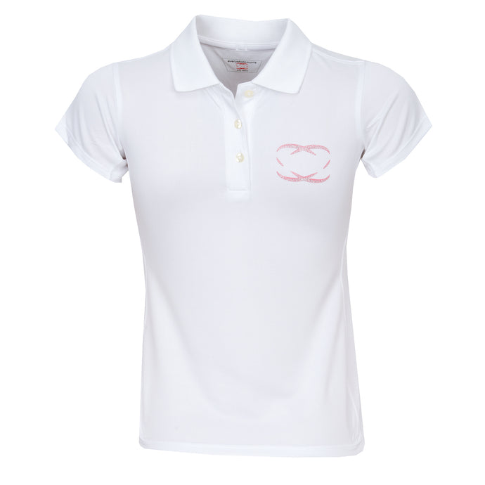 Girls' Golf Polo Shirt, 'Lytham' - everyshotcounts