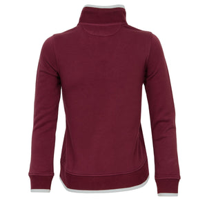 Scottsdale 1/4 zip Pullover Dark Cherry - everyshotcounts