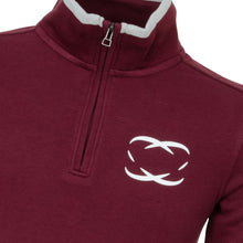 Junior golf sweater, Scottsdale, Dark Cherry - everyshotcounts