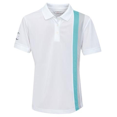Girls Golf Polo Shirt, awesome quality fitted kids golf polo in a stunning design - everyshotcounts