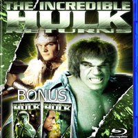 Incredible Hulk, The - 3 Movies