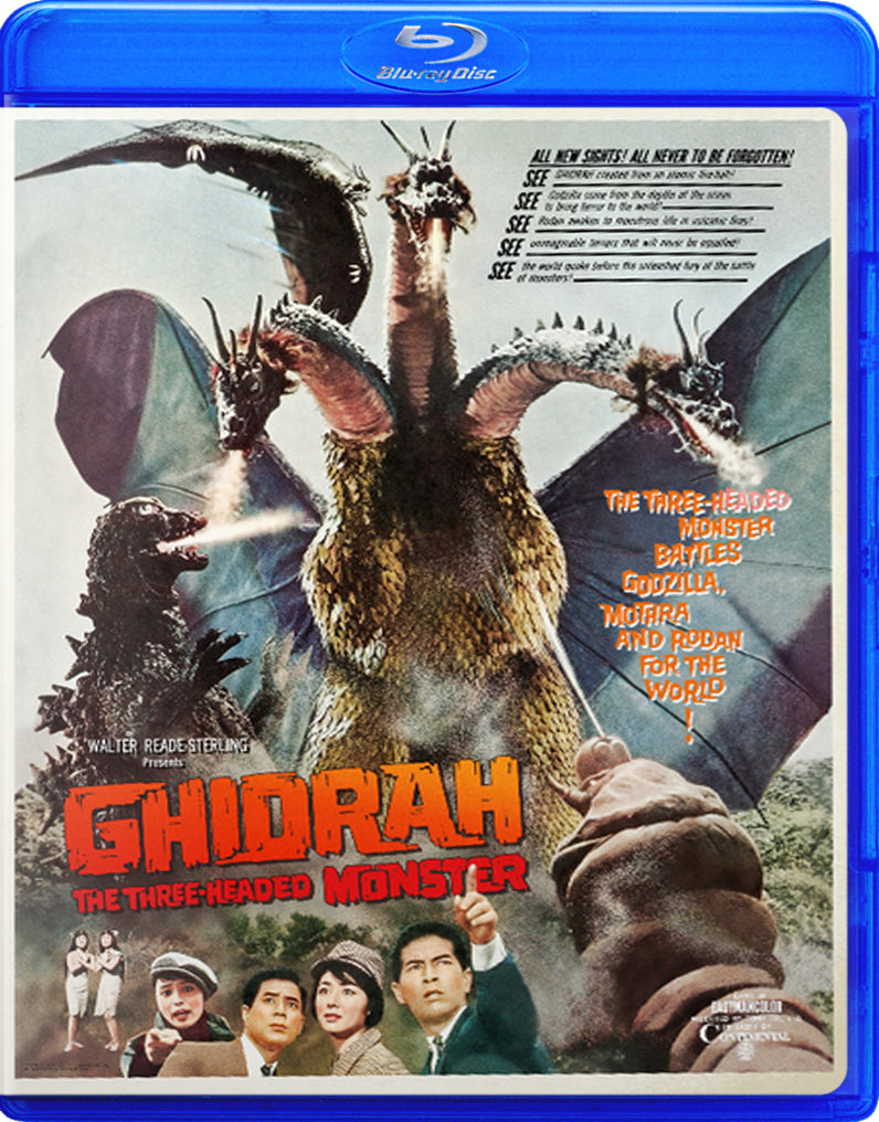 Ghidorah, the Three-Headed Monster (American & Japanese Version)