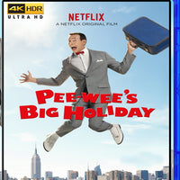 Pee-Wee's Big Holiday in 4K
